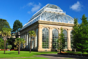 Royal Botanic Garden in Edinburgh