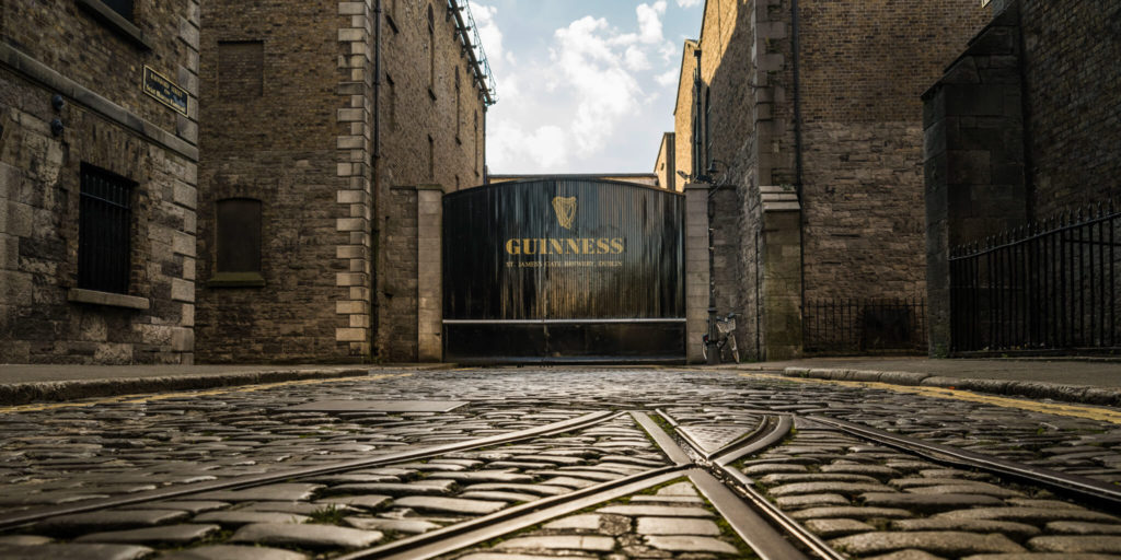 The Guinness Storehouse at St. James Gate Brewery