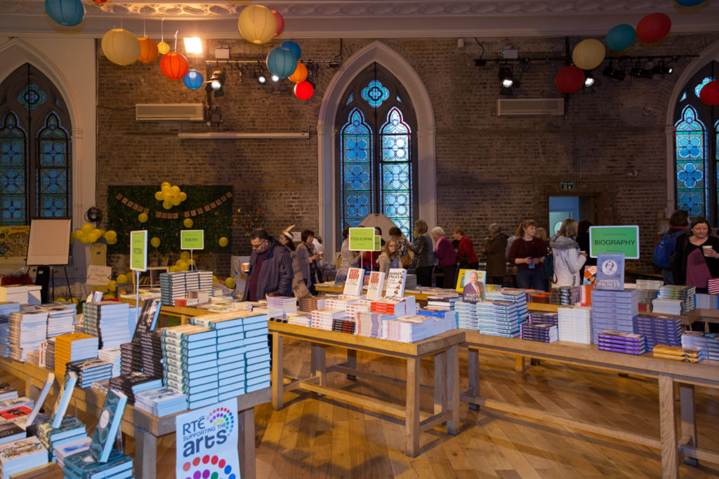 Dublin Book Festival in Smock Alley Theatre