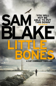 Sam Blake's Little Bones, shortlisted for Irish Crime Novel of the Year