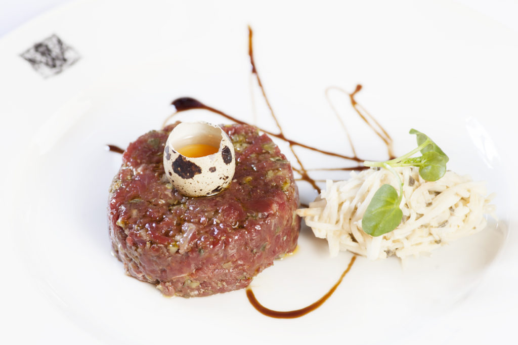 The Witchery's legendary Steak Tartare