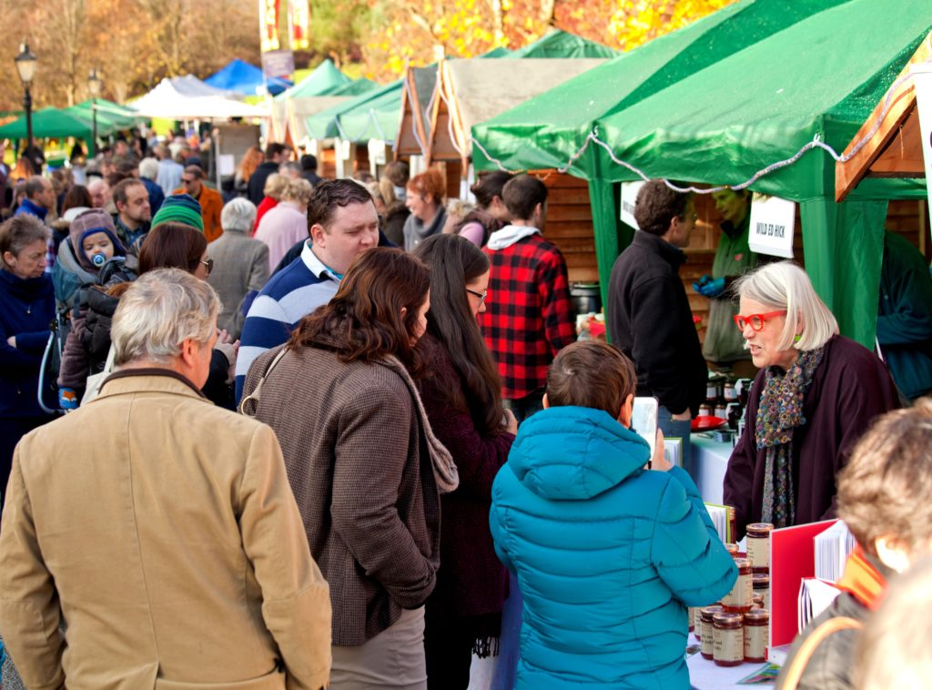The Wild Food Festival Market in Macreddin, County Wicklow