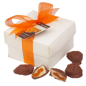 Gold Award Winner Amaretto Apricot Chocolates from Skelligs Chocolate Company