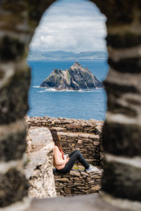 View of Little Skellig (Image @storytravelers)